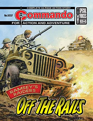 Commando #5237: Ramsey's Raiders: Off The Rails