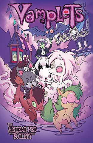 Vamplets: The Undead Pet Society Vol. 4