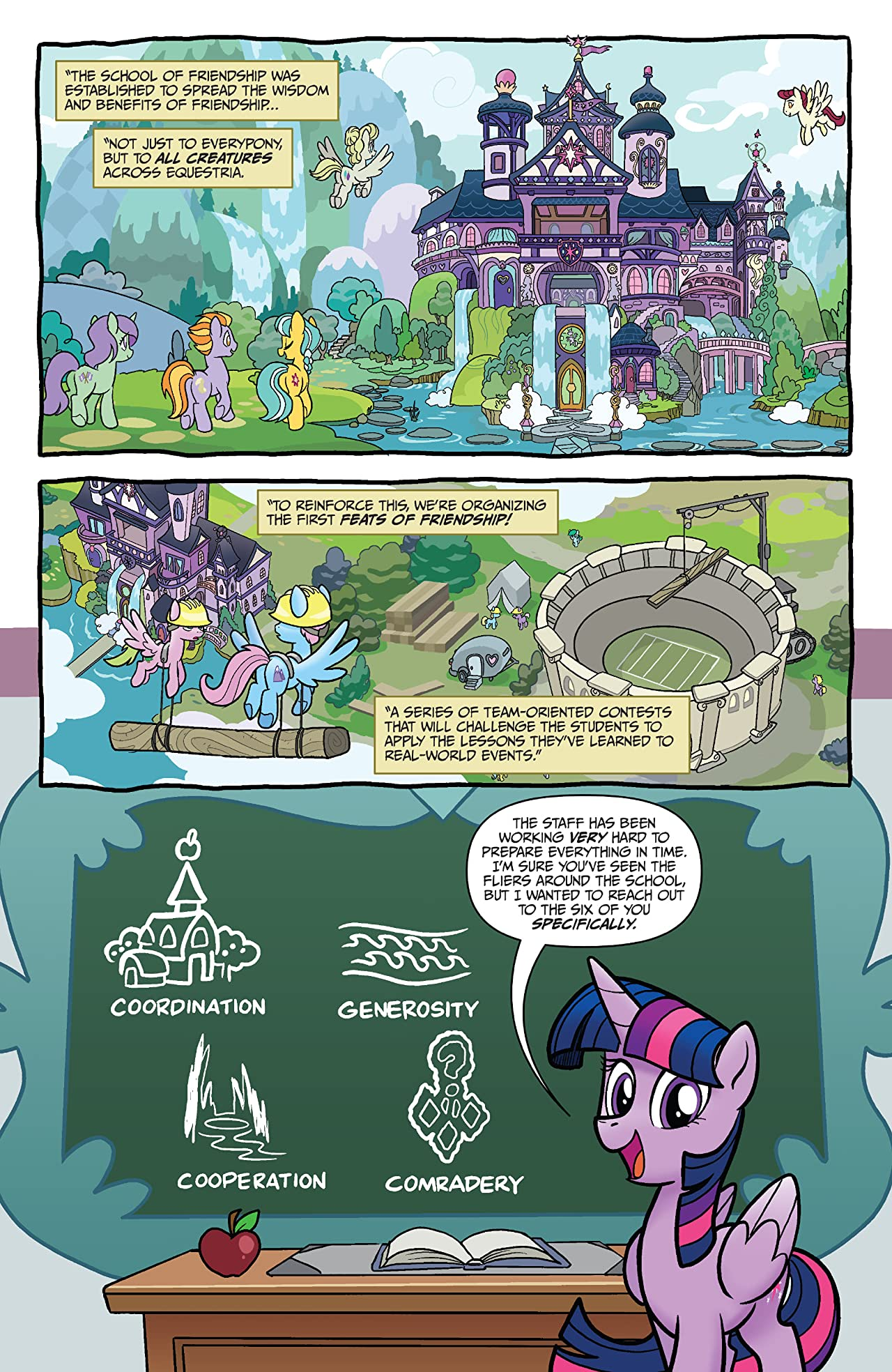 My Little Pony: The Feats of Friendship #1
