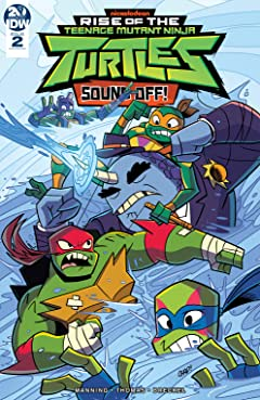 Teenage Mutant Ninja Turtles: Rise of the TMNT: Sound Off! #2 (of 3)