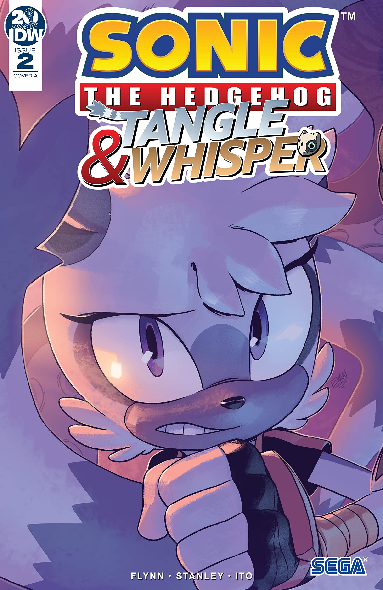 Sonic The Hedgehog Tangle Whisper 2 Comics By Comixology