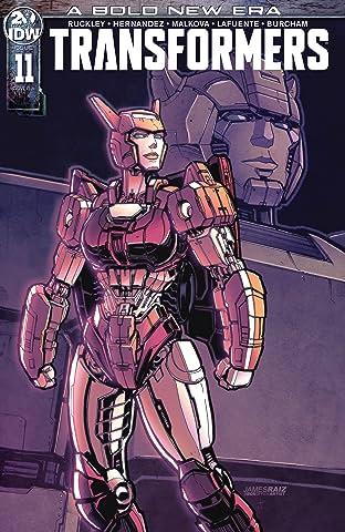 Transformers (2019-) No.11