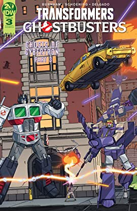 Transformers/Ghostbusters #3
