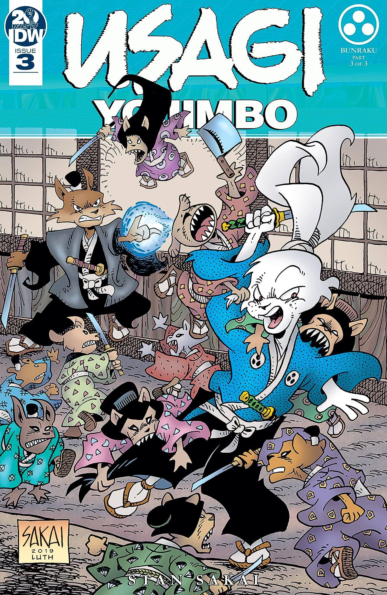 Usagi Yojimbo (2019-) #3