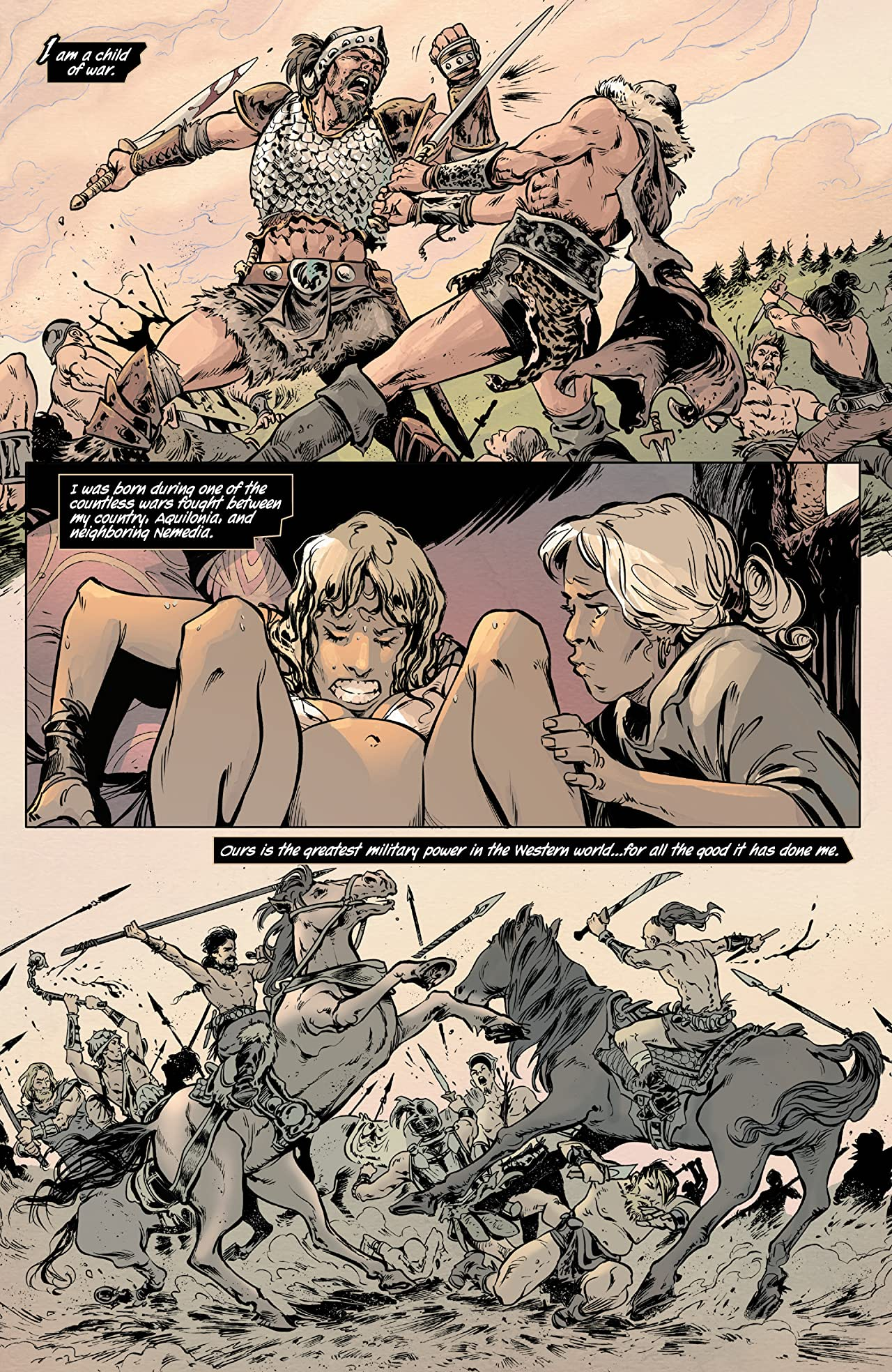 Age Of Conan: Valeria (2019) #1 (of 5)