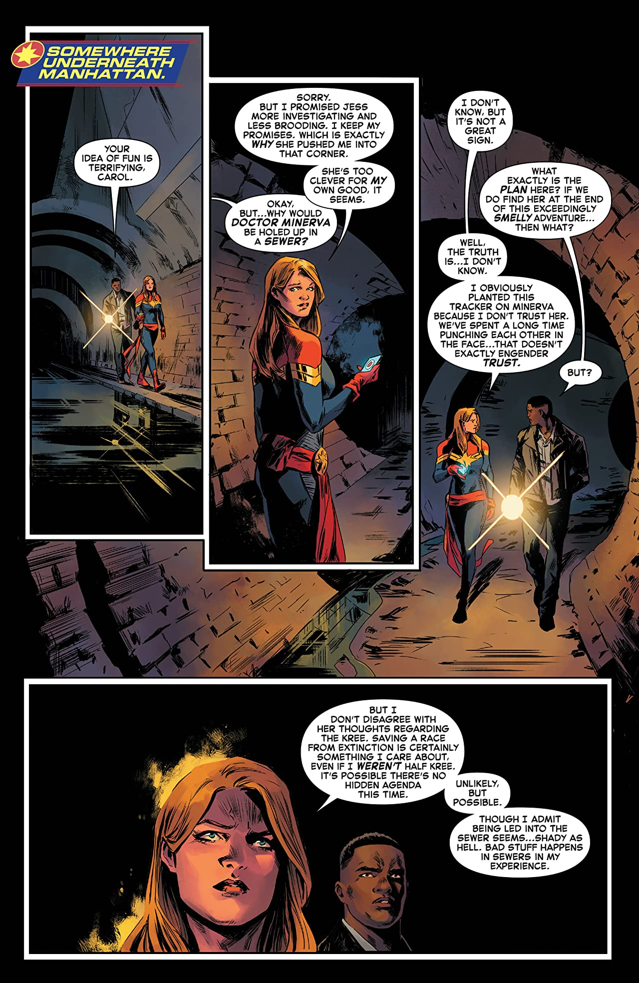 Captain Marvel (2019-) #9