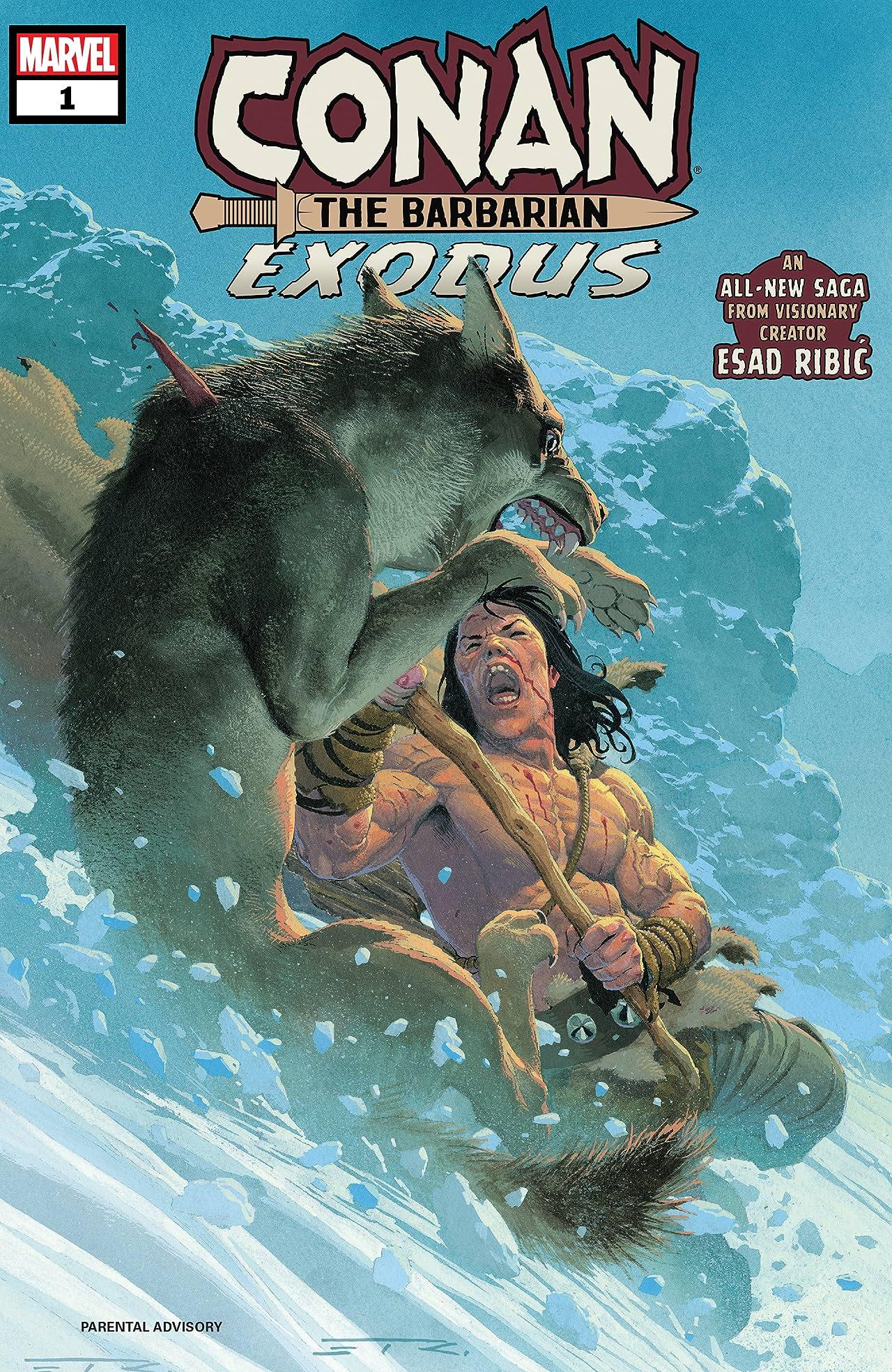 Conan The Barbarian: Exodus (2019) #1