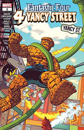 Fantastic Four: 4 Yancy Street (2019) No.1