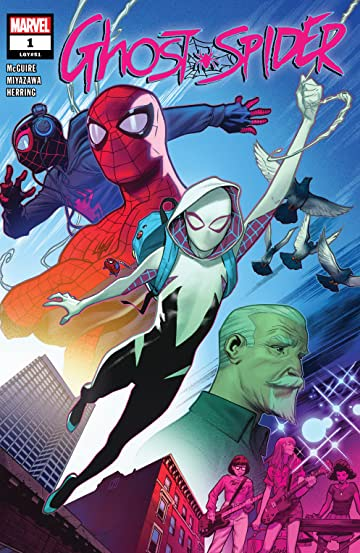 Image result for Ghost Spider #1