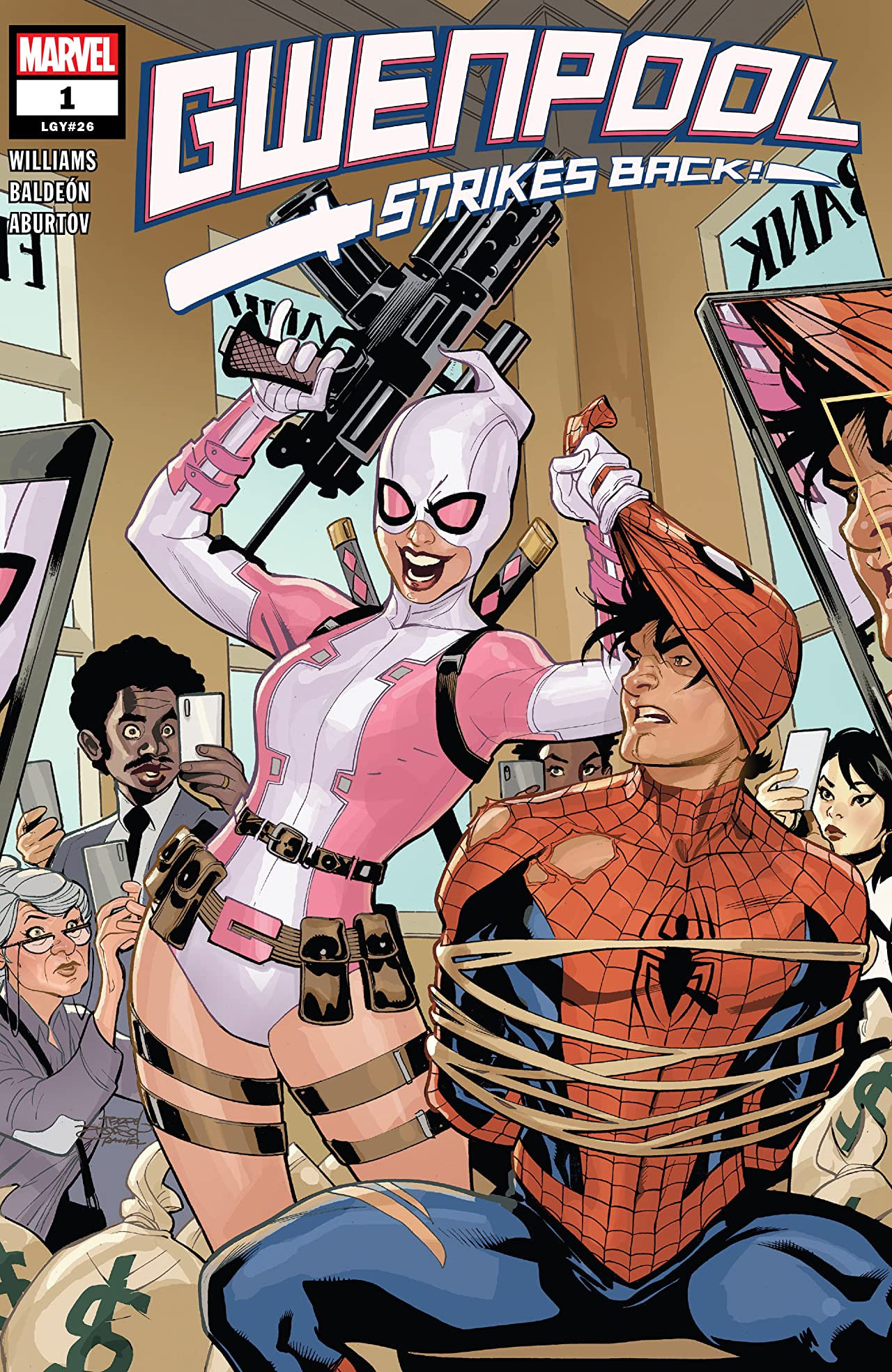 Gwenpool Strikes Back (2019-) No.1 (sur 5)