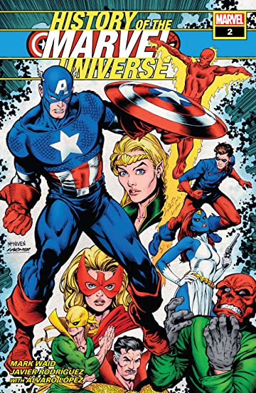 History Of The Marvel Universe (2019) #2 (of 6)