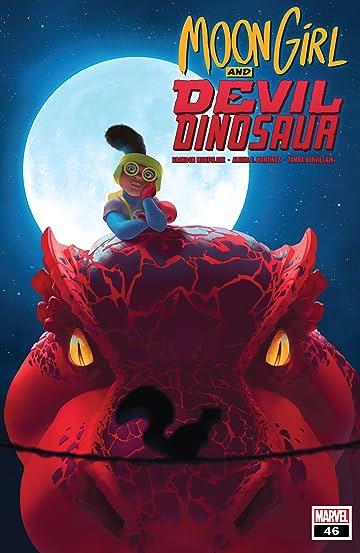 Moon Girl and Devil Dinosaur (2015-2019) #46