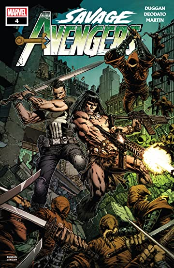 Savage Avengers (2019-) No.4
