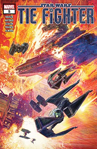 Star Wars: Tie Fighter (2019) No.5 (sur 5)
