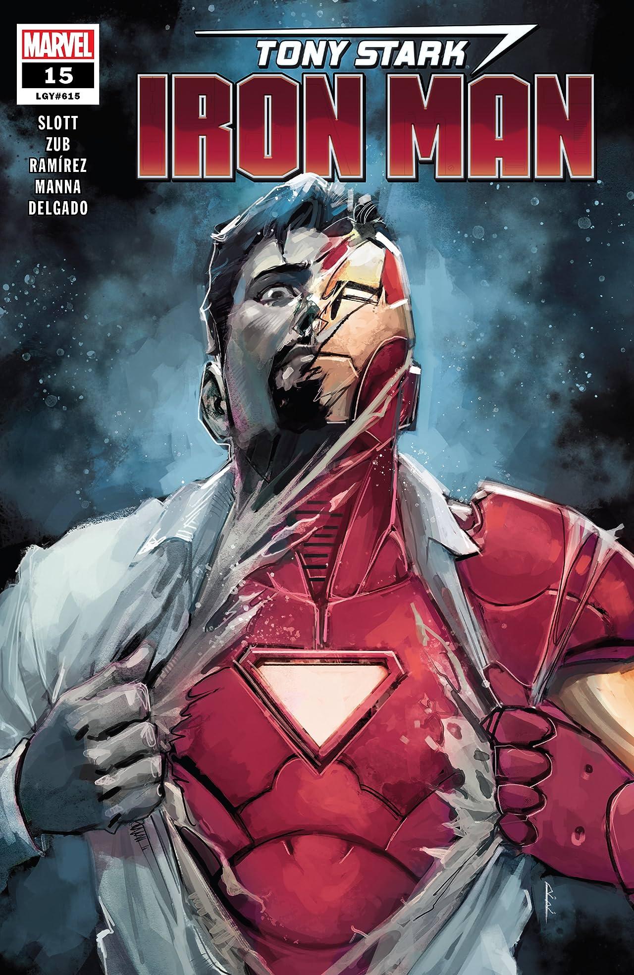 Tony Stark: Iron Man (2018-) No.15