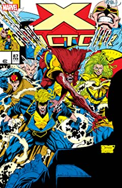 X-Factor (1986-1998) #87: Facsimile Edition