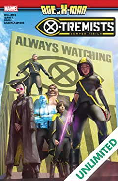 Age Of X-Man: X-Tremists