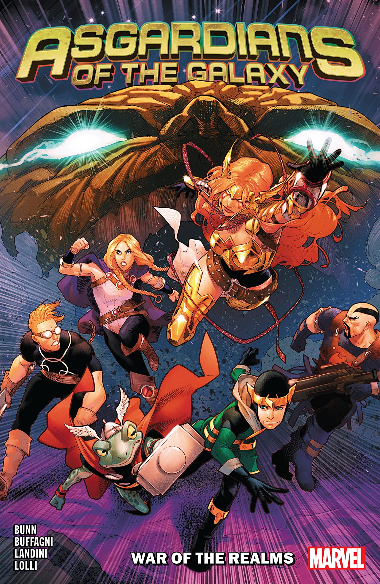 Asgardians Of The Galaxy Tome 2: War Of The Realms