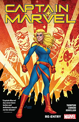 Captain Marvel Tome 1: Re-Entry