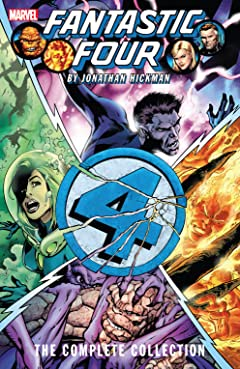Fantastic Four by Jonathan Hickman: The Complete Collection Tome 2
