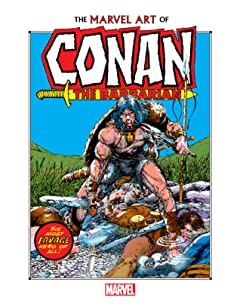 Marvel Art Of Conan The Barbarian