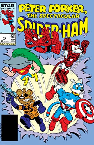 Peter Porker, The Spectacular Spider-Ham (1985-1987) #16