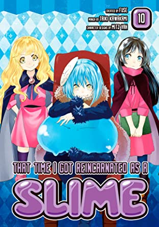That Time I Got Reincarnated As A Slime Tome 10