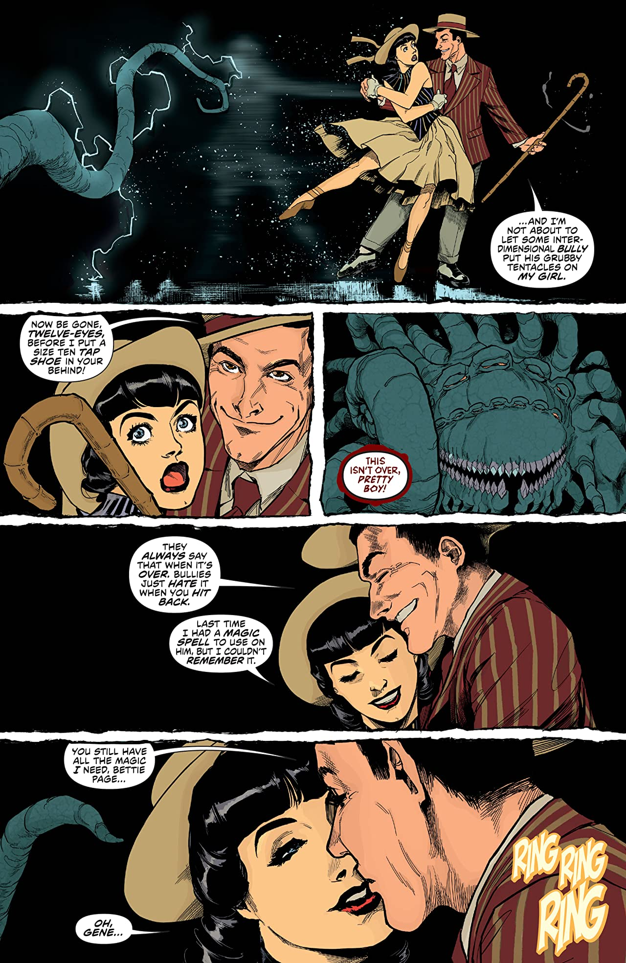 Bettie Page: The Princess and The Pin Up