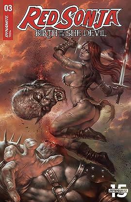Red Sonja: Birth of the She-Devil #3