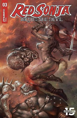 Red Sonja: Birth of the She-Devil No.3