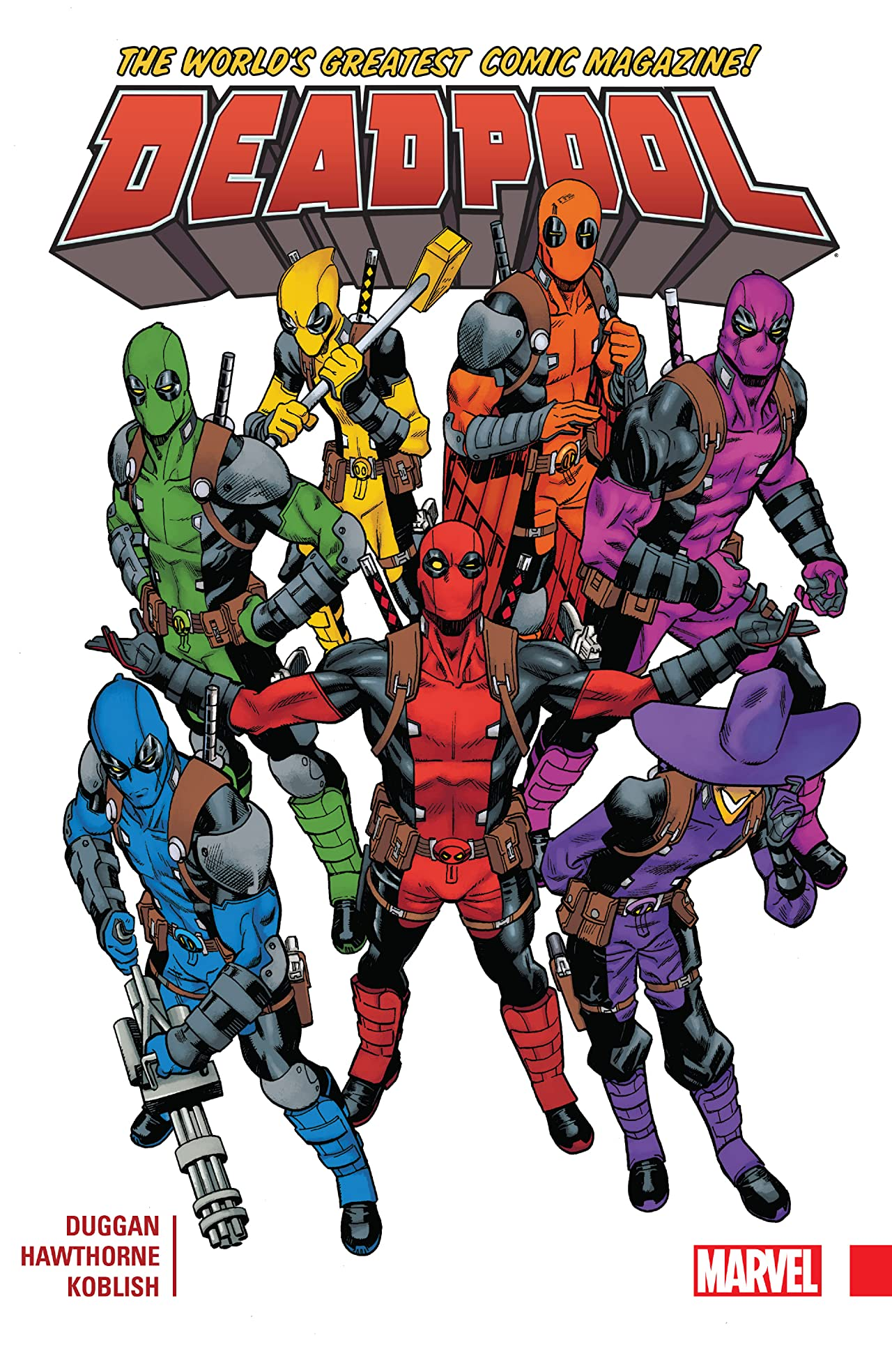Deadpool: World's Greatest Vol. 1 Collection