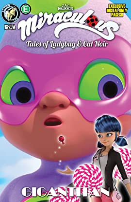 Miraculous: Tales of Ladybug and Cat Noir: Season Two #8: Gigantitan