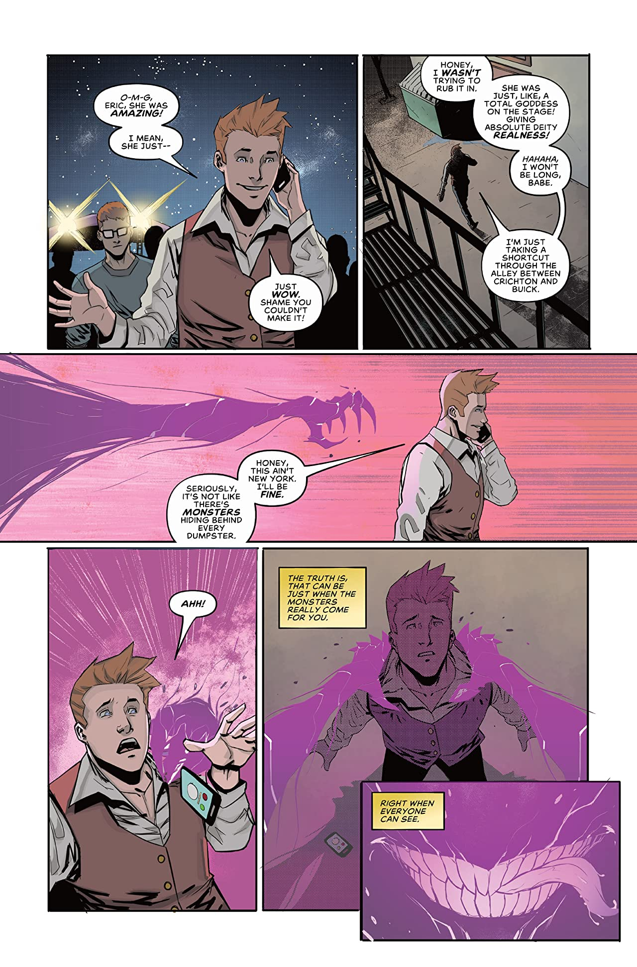 The Pride Season Two (comiXology Originals) #1 (of 6)