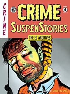The EC Archives: Crime SuspenStories Vol. 4