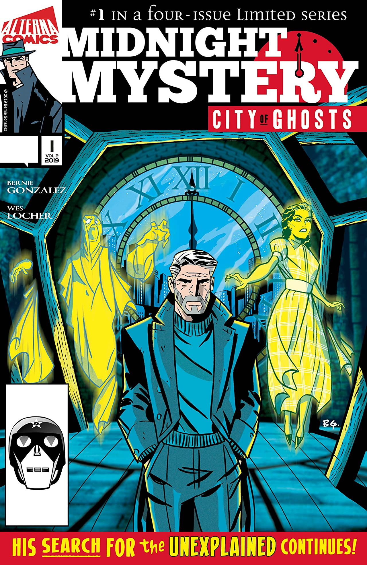 Midnight Mystery: City of Ghosts #1