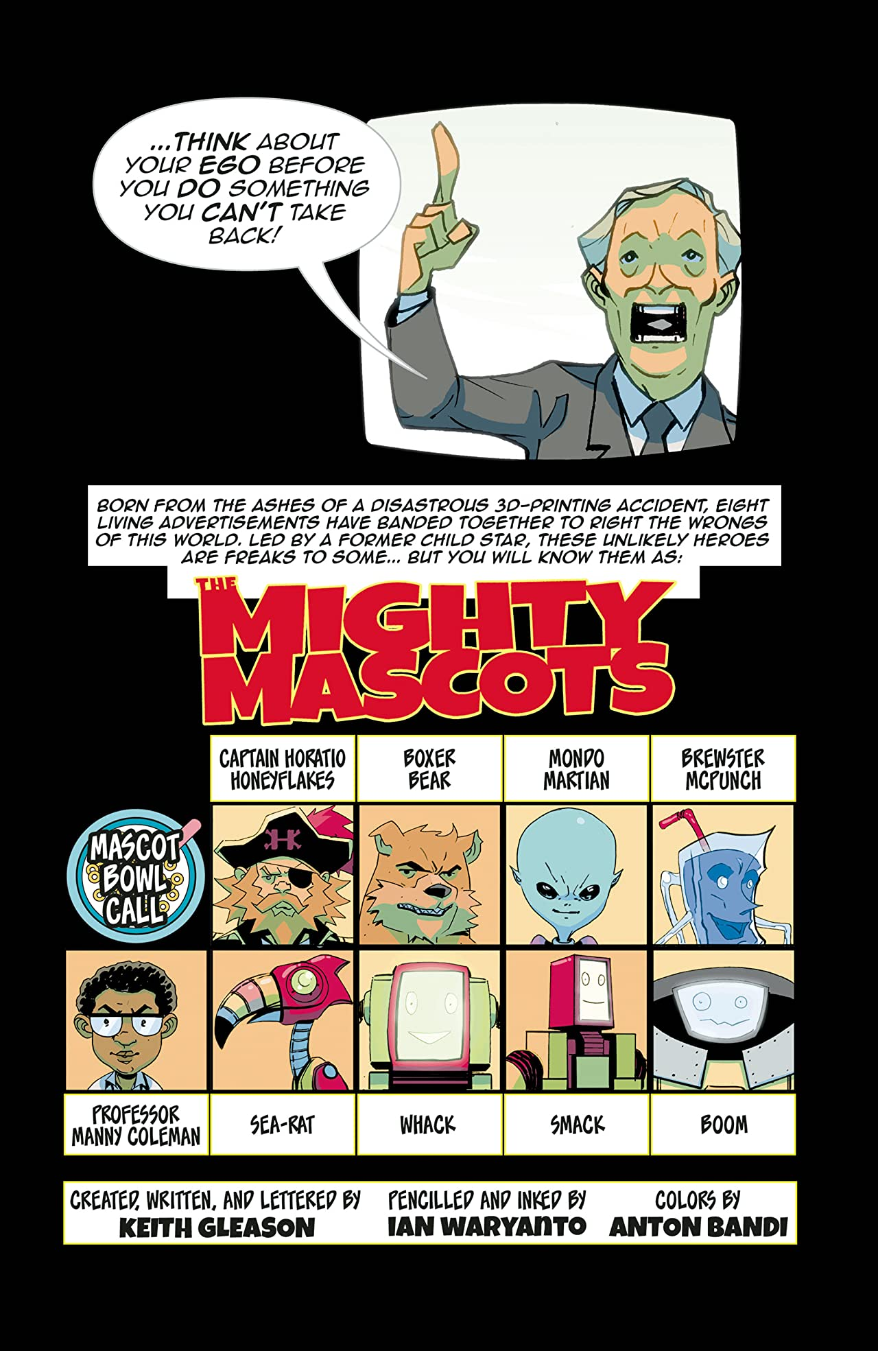 The Mighty Mascots #2