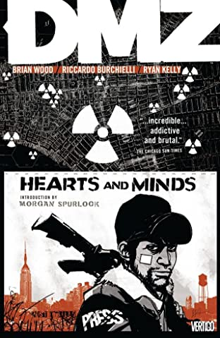 DMZ COMIC_VOLUME_ABBREVIATION 8: Hearts and Minds