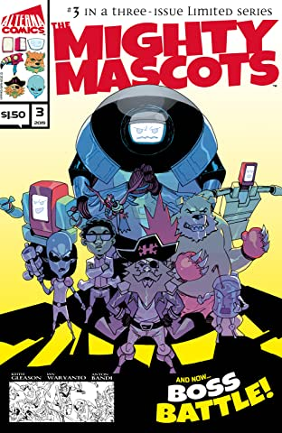 The Mighty Mascots #3