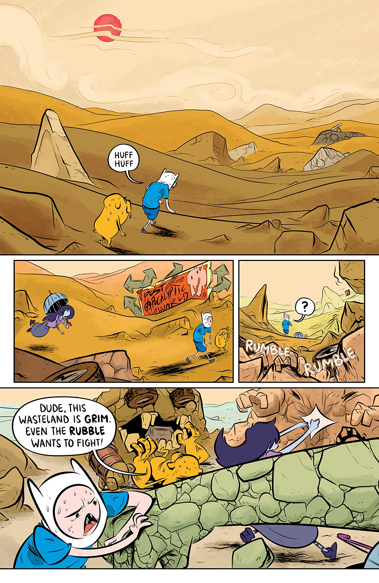Adventure Time: The Flip Side #3 (of 6)
