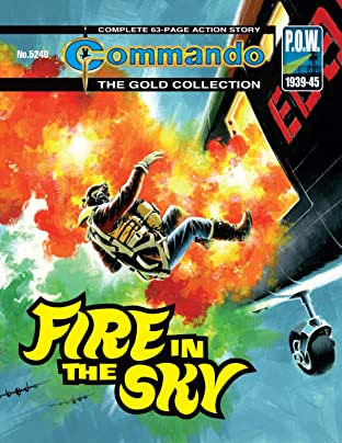 Commando #5240: Fire In The Sky