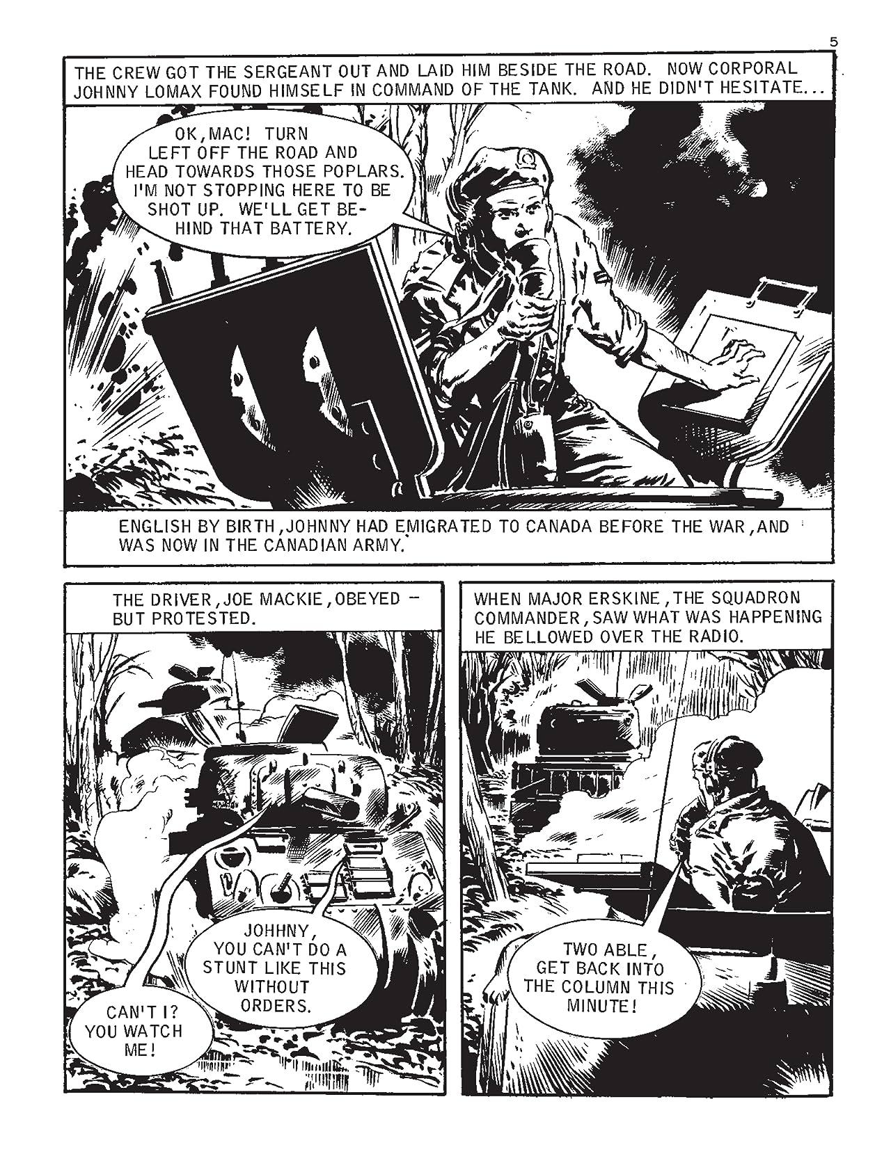 Commando #5240: Fire In The Sky