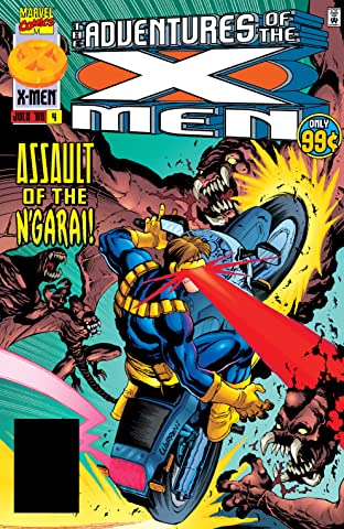 Adventures Of The X-Men (1996-1997) #4