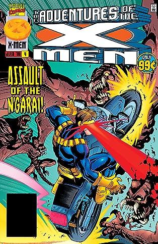 Adventures Of The X-Men (1996-1997) #4
