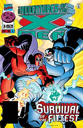 Adventures Of The X-Men (1996-1997) #6