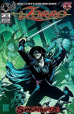 Zorro Sacrilege #2