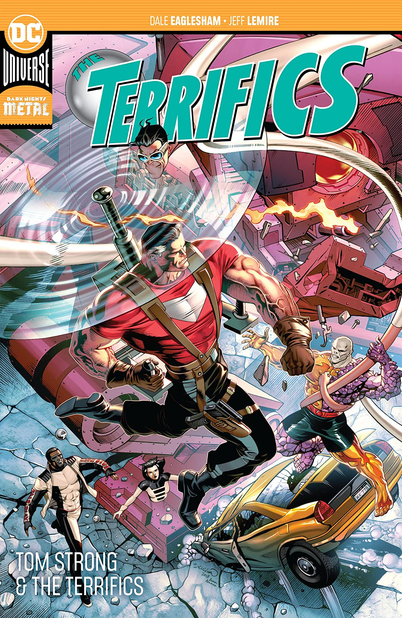 The Terrifics (2018-) Vol. 2: Tom Strong and the Terrifics