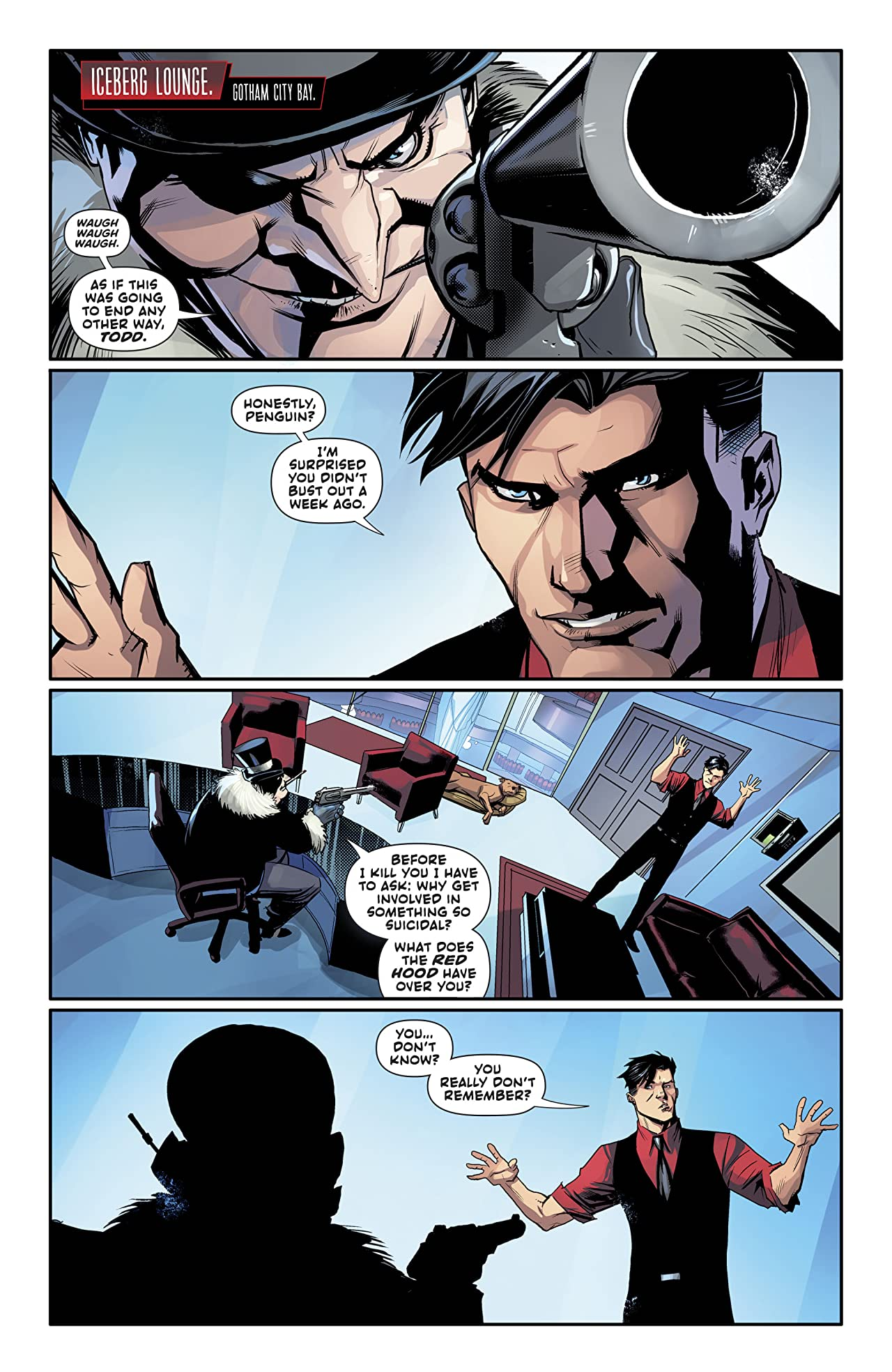 Red Hood: Outlaw (2016-) No.36