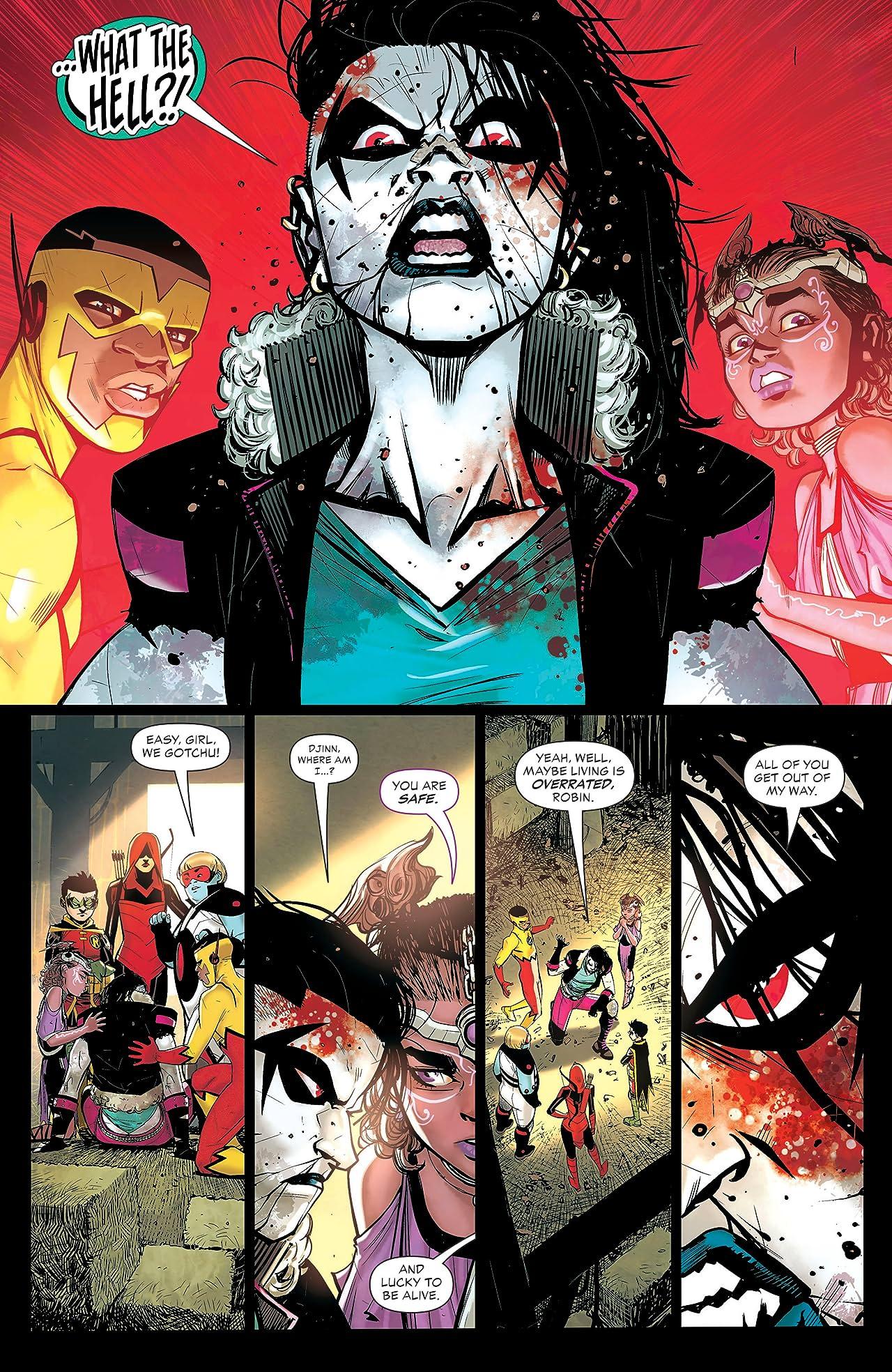 Teen Titans (2016-) #32