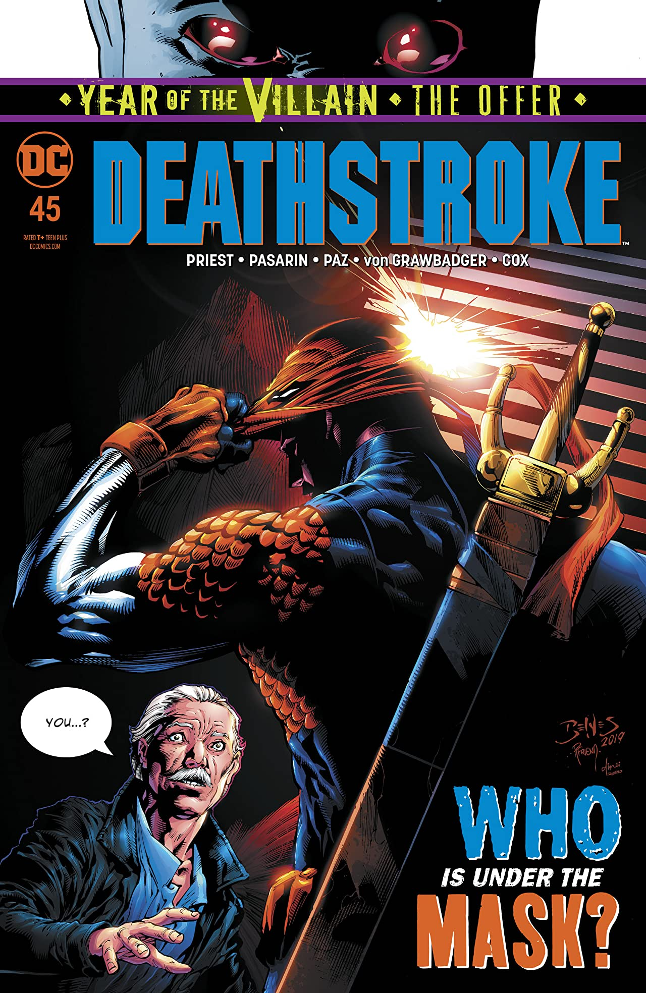 Deathstroke (2016-) No.45