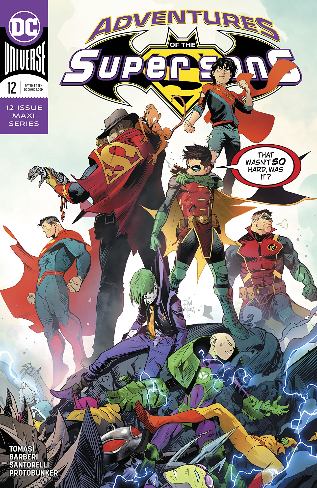 Adventures of the Super Sons (2018-2019) #12